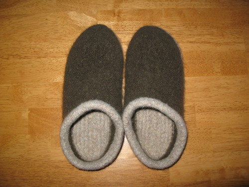 men's felted clogs