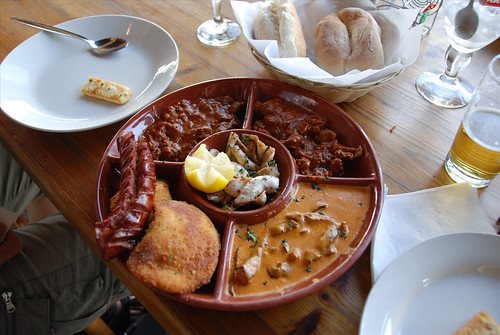 a very tasty and filling Portuguese goodies starter!