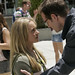 Hayden Panettiere as Claire Bennet, Jack Coleman as H.R.G.