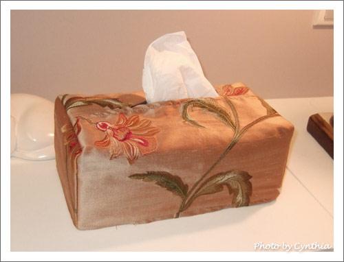 主臥的衛生紙套