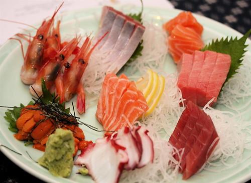 Sashimi medley