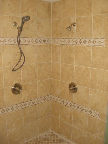 #73 Master Shower Tile - Front