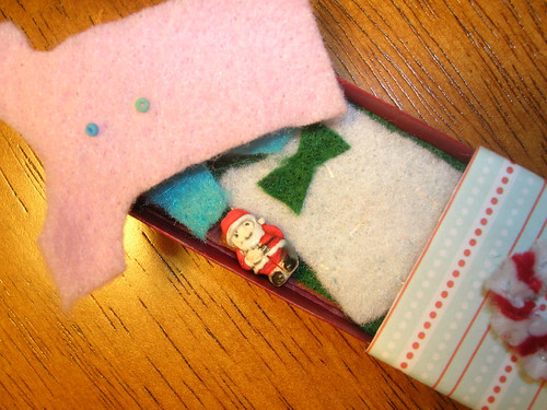 Sandy's Candy Cane Suitcase