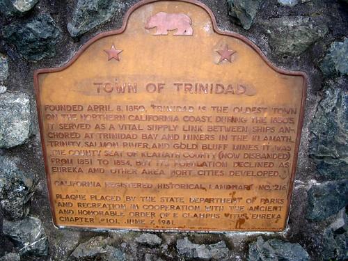 Trinidad Plaque