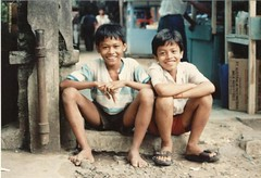 street kids (kentclark333) Tags: kids children indonesia java asia kites jakarta scouts muslims streetkids bogor merak pelabuhanratu malnutrition moslems