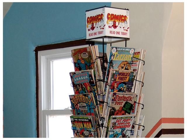 Keith Bowman's comic book spinner
