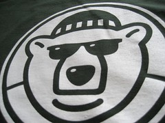 Winterblast 2008 T-Shirt Design: Polar Bear Detail