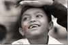 Painted Smile (Shabbir Ferdous) Tags: kids photographer bangladesh facepaints bangladeshi canoneosrebelxti 21stfebruary shabbirferdous 21feb2008 shabbirspeople sigmazoomtelephoto70300mmf456apodgmacro wwwshabbirferdouscom shabbirferdouscom