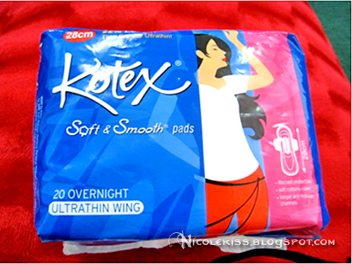kotex night pad