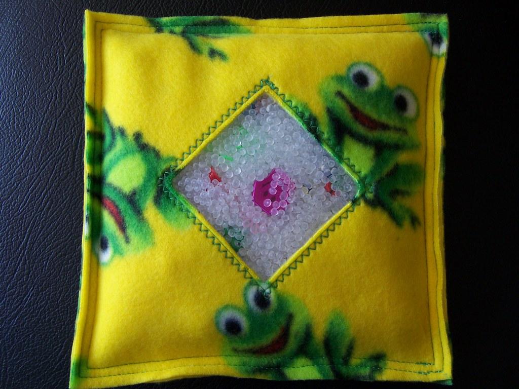 I Spy Bag-Frog