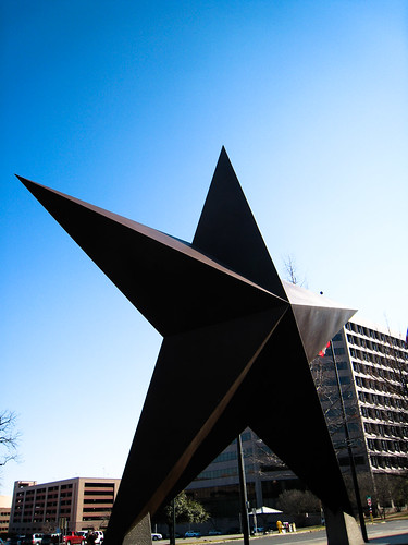 Texas State History Museum Star