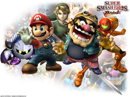 super smash bros brawl review
