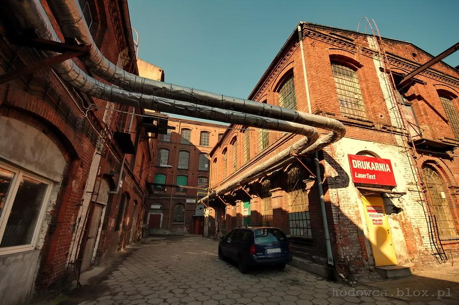 Stara fabryka, Piotrkowska/Roosevelta