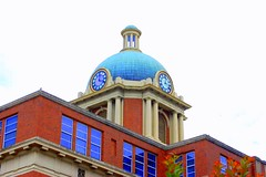 colorful county courthouse (whodeenee) Tags: building architecture nikon south picasa courthouse d40 digitalcameraclub