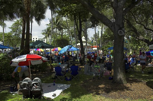 Jazz Brunch under the trees