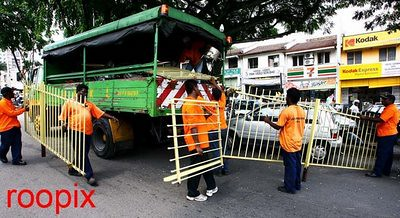 Stalls gate confiscated