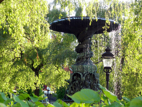 Fountain at Kungstradgarden