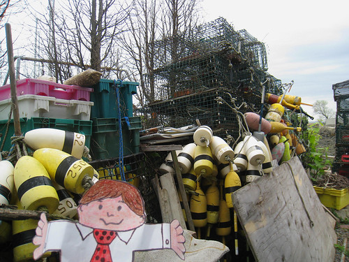 flat stanley: bouys