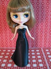 Little black gown