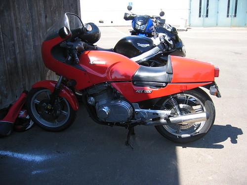 Laverda at OVM Vintage Motorcycle Show Corvallis