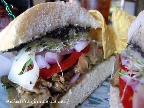 The Gypsy Den- Roasted Eggplant Sandwich