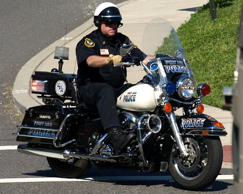 new jersey police motorcycles newark liberty airport
