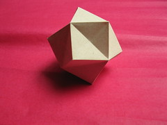 John Montroll's Stellated Octahedron (georigami) Tags: paper origami papel papiroflexia origamiforum