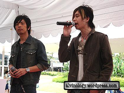 Vin and  Shinya