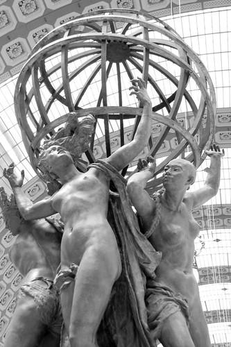 Musée d'Orsay: Les Quatre Parties du Monde Soutenant la Sphère Céleste