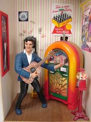 Elvis Scene 1:12 Scale Miniature