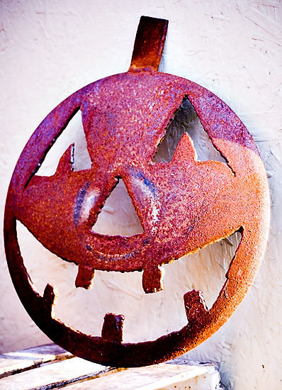 Metal Pumpkins