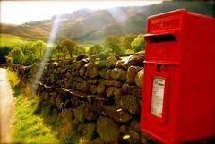 postbox (alternativefocus) Tags: pentax postoffice lakedistrict cumbria postbox stonewall lakeland pentaxk10d alternativefocus