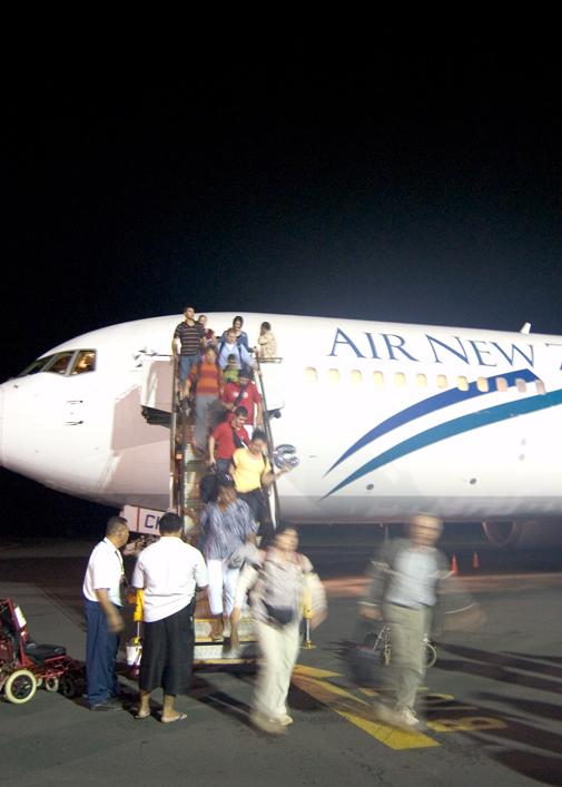 Arrival in Samoa