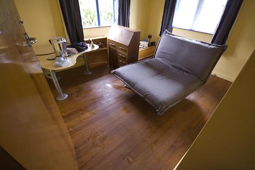 spare room - carpetless