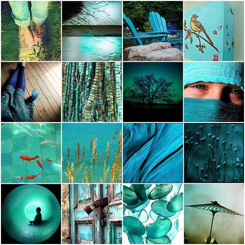 Turquoise Mosaic / Liz Kalloch