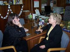 OK and Senator Clinton