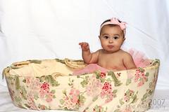 basket of love (Sassy Pants Momma) Tags: addi pinktutu mykid2 6monthsallgirl