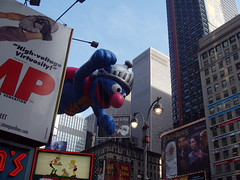 Macy Parade 2004 (Steven Bornholtz) Tags: thanksgiving street november people usa fall 2004 thanks america turkey balloons photography us nikon dj day photos 04 united steve muppets super olympus parade celebration event grover macys steven states d200 gotham midway macy crowds floats c60 gothim groover seasme bornholtz djmidway