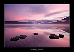 Morning Mirror (Tomas Kaspar) Tags: lake mountains color nature water clouds sunrise landscape themoulinrouge catchycolorspink perfectangle theexhibit impressedbeauty thegoldendreams ostrellina