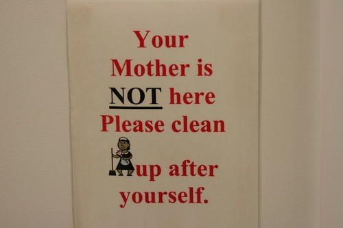 your mother = a french maid?