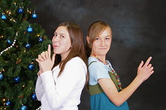 Portraits at Church Christmas Party