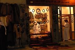 Souq Wakif - abaya shop