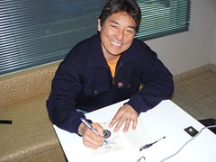 "Guy Kawasaki autographing my copy of ""The..."