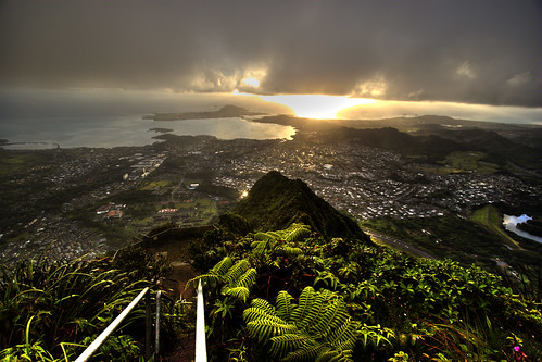Stairway to Heaven Kaneohe, Hawaii