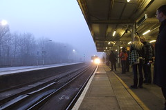 Earlswood Station - Foggy Sunrise