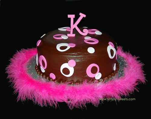pink sassy circles Baby K