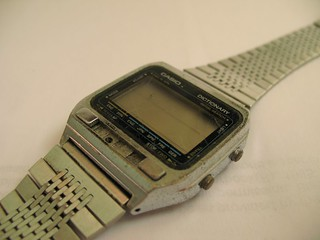 Casio TE-2500 Dictionary LCD watch