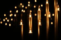 Reflection (lautsu) Tags: christmas light reflection canon candle decoration