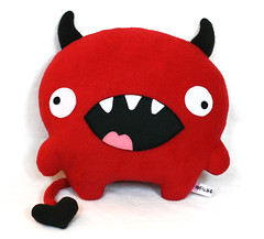 Love Devil (Fluffels) Tags: red love toy soft valentine plush devil fluffel