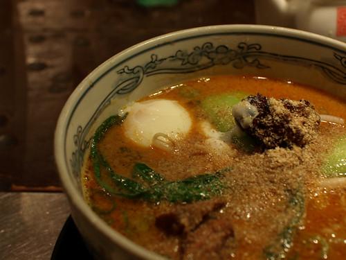 delicious! 坦々麺!